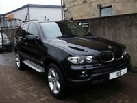 "06 06 BMW X5 3.0D SPORT AUTO 5DR BLACK FULL LEATHER RECARO 19"" ALLOYS LOW TAX"
