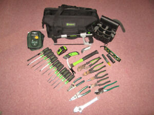 Greenlee Electricians Tool Set