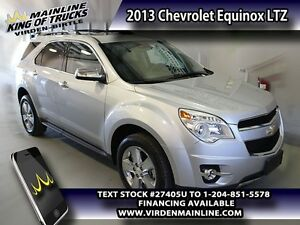 2013 Chevrolet Equinox LTZ   - Leather Seats - $172.86 B/W - Low