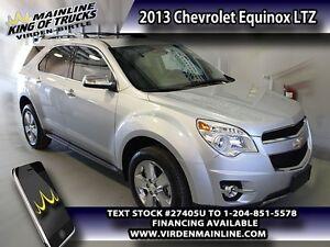 2013 Chevrolet Equinox LTZ   - Leather Seats - $172.86 B/W - Low