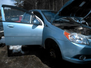 2011 Chevy Aveo (K0762) Parts Available