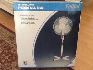 "16"" Oscillating Pedestal Fan"