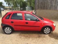 Vauxhall corsa 1.0 petrol breaking for spares