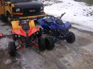 Pair of 125cc Atv's