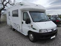 AUTOCRUISE STARQUEST, 2 BERTH, LOW PROFILE, END KITCHEN, 2 OWNERS