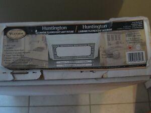 HUNTINGTON DECORATIVE FLUORESCENT LIGHT FIXTURE