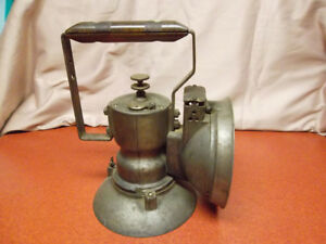 Vintage Oxweld Rail Road Model A Union Carbide Lamp Lantern