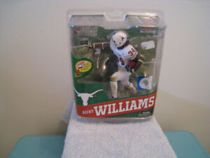 NFL Mcfarlane Ricky Williams Variant Toy Sports Action Figure