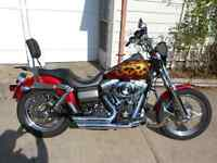 Harley FXDB with limited edition Harley paint
