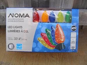 Brand New ( 50 ) Noma -  MULTI Colored C9 LED lights Cornwall Ontario image 2
