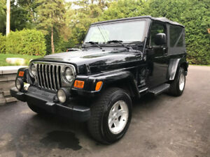 Rare Jeep Unlimited 2005 en tres belle condition d'origine