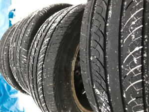 205/55/16 Alloy wheels with tires