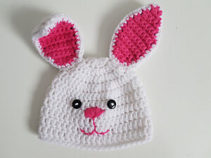 Handmade Crochet Baby/Newborn/Infant Hats