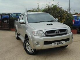 2011 Toyota Hilux HL3 DCab Pick Up 2.5 D 4D 4WD 144 4 door Pick Up