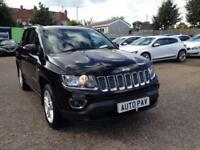 2014 64 JEEP COMPASS 2.1 CRD LIMITED 5D 161 BHP DIESEL