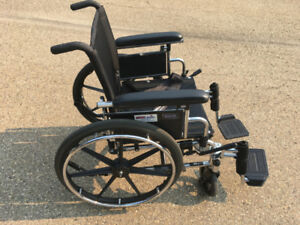 TWO IN GOOD SHAPE WHEELCHAIRS