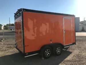 2015 forest river cargo trailer, 14 ft ext height 4900 lbs axles
