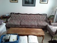 Long Couch and matching Chair