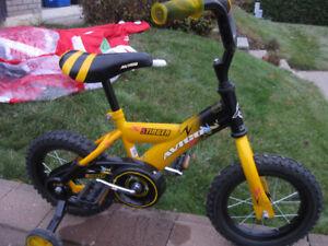 vélo garcon et fille 12 pouces