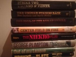 Livres de baseball books Umpire MLB Expos Red Sox Yankees