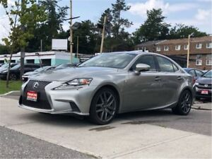 2014 Lexus IS 350 F-Sport AWD NAV|CAMERA|ROOF|LTHR