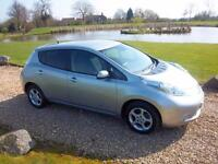 2014 / 64 Nissan Leaf E ( 80kw ) Auto Acenta With 6.6KW Charger