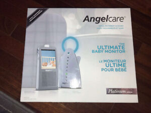 Angelcare Movement Breathing Sound Video Monitor (AC1100)