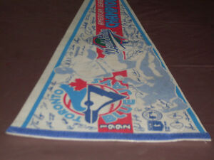 Toronto Blue Jays 1992 World Series Champions Pennant