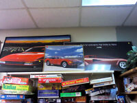 Car Pictures in the HEARTBEAT Thrift Store/BayView Mall