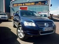VOLKSWAGEN TOUAREG 5.0TDI 4X4 AUTO NICE MILES TWO OWNERS FULL HISTORY(NOW SOLD)