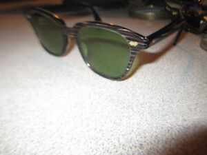 e1723e4b63 Tone Ray Wayfarer Sunglasses Vintage Rare Made In France