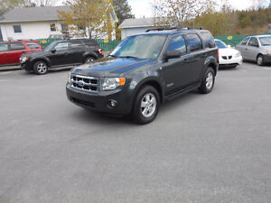 2008 FORD ESCAPE 5 DOOR XLT SUV, 3 YEAR WARRANTY INCLUDED