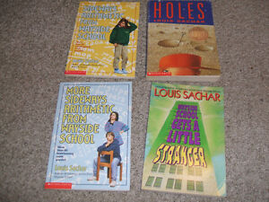 Box of 18 children's books-Sachar, Spinelli, Strasser, Clements London Ontario image 4