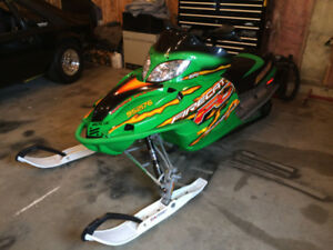 2005 Arctic Cat Firecat F6 part out