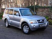 EXCELLENT DIESEL 4X4 7 SEATER!!2005 MITSUBISHI SHOGUN 3.2 DI-D EQUIPPE 5dr AUTO,LONG MOT,AA WARRANTY