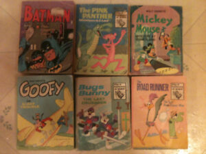 BIG LITTLE BOOKS all 6 for $25