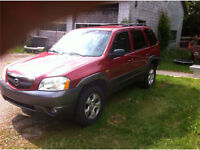2003 Mazda Tribute, AWD V6 SUV (fix-up or parts)