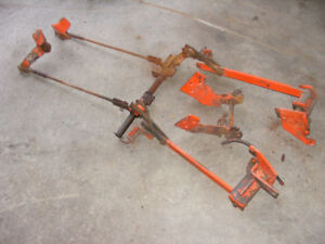 KUBOTA B3030  3 PT BELLY MOUNT MOWER BRACKETS