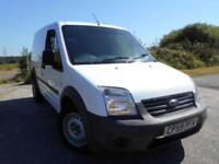 2010 59 FORD TRANSIT CONNECT 1.8 T200 LR 1D 75 BHP **NO V.A.T , 1 OWNER ,