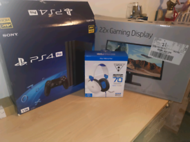 Playstation 4 Pro Streaming setup bundle NO silly offers