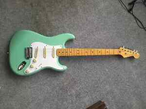 Squier FSR Classic Vibe Stratocaster '50s Surf Green Prince George British Columbia image 1