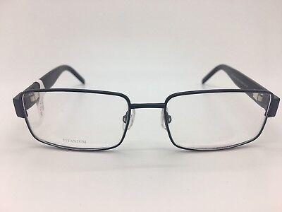 DIOR HOMME DIOR0137 DJK BLACK FRAMES EYE GLASSES 53-16-135 TITANIUM NEW!!