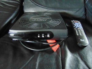 BELL 4100 SATELLITE RECEIVER AND REMOTE
