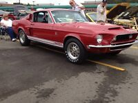 1967 1968 MUSTANG & SHELBY PARTS