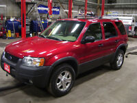 2003 Ford Escape XLT Leather 4WD Automatic 3.0 V6 172607 kms