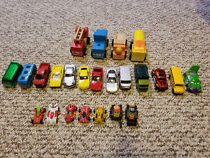 Car and matchbox collection