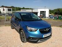 2018 Vauxhall Crossland x X 1.2 81ps Elite Nav 5 door Hatchback