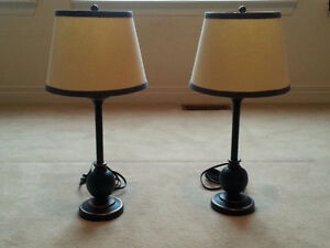Beautiful Set of Two Children's Lamps!