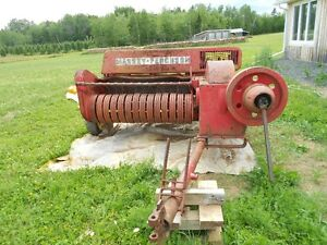 # 10 Massey Baler and rake parts ect