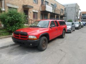 Dodge Dakota 2003 avec pneus d'hivers